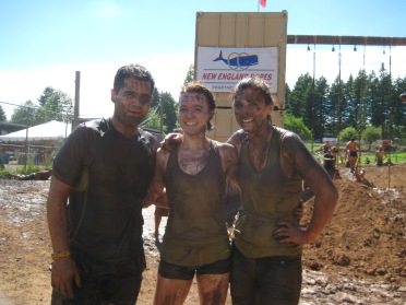 After rope climb