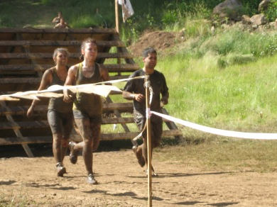 Running after rope wall