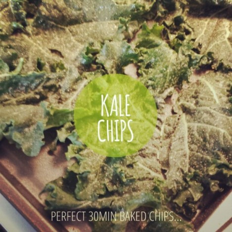 Perfect 30 minute Baked Kale Chips