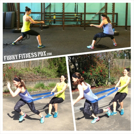 PortlandTeam Fitness Partner Exercises