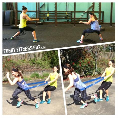 PortlandTeam Fitness Partner Exercises
