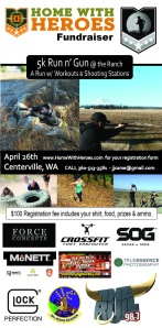 Run N Gun 5K Flyer