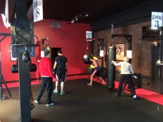 Heavy bags, speed bags, and more.