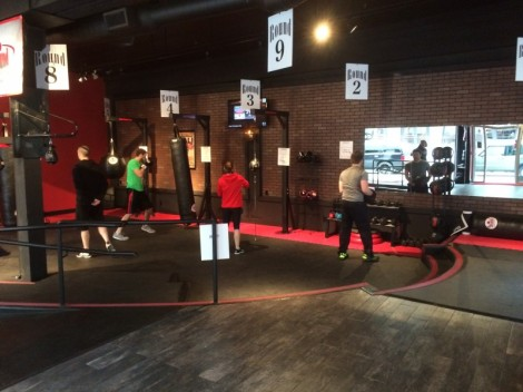 9Rounds of circuit-style kickboxing training