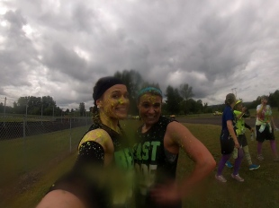 Mid Race after yellow slime