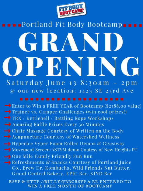 FBBC GRAND OPENING