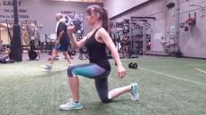 Club-Sport-Oregon-training-session-walking lunges